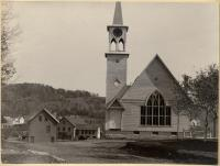 Universalist Church Construction, Kingfield, 1895
