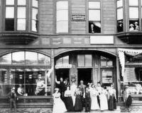 The Allen Building, Presque Isle, ca. 1890