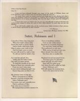 Civil War remembrance poem, Presque Isle, 1905