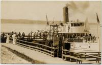 Steamer Southport, Squirrel Island, ca. 1912