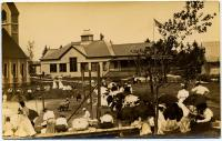 Tennis match, Squirrel Island, ca. 1905