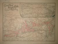 Map of the Grand Trunk Railway of Canada