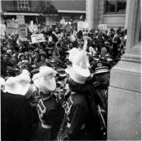 Lyndon B. Johnson's visit to Portland, 1964