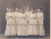Boothbay Center School graduates, ca. 1895