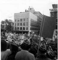 Lyndon B. Johnson in Portland, 1964