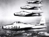 Dow Air Force Base F-84s, Bangor, 1948