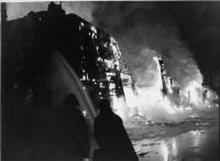 Washburn potato house fire, 1962