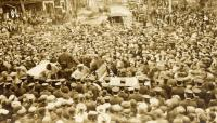 President Taft campaigning, Sanford, 1912