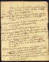 King's Pine Journal, Brunswick, 1768