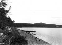 Winterville, view at shore, ca. 1900