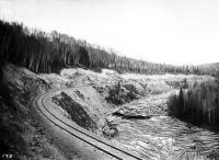 Fish River, Fort Kent, ca. 1900