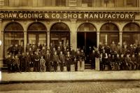 Shaw, Goding & Co. Shoe Manufactory, 1890s