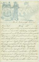 Pvt. Eben Calderwood to wife, Louisiana, 1863