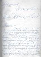'Rising Sun' log book, 1863