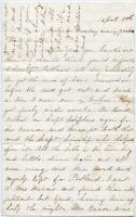 Annie Ripley on Lee's surrender celebration, Gorham, 1865