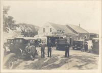 Bell's Garage in Boothbay Harbor, ca. 1930