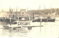 Boothbay Harbor's west side cold storage building, ca. 1920