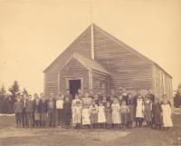 Barter's Island school, Boothbay, ca. 1890