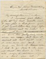 Pvt. John Sheahan on 'honorable peace,' Virginia, 1863