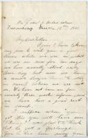 Pvt. John Sheahan requests for pepper, cod, Virginia, 1863