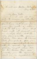 Pvt. John Sheahan letter on picket duty, Virginia, 1863