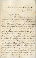 Pvt. John P. Sheahan on hopes for peace, victory, Virginia, 1863