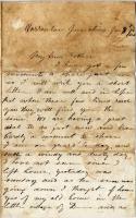 Pvt. John Sheahan on home, death, Virginia, 1863