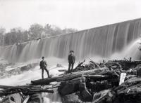 Mousam River Dam at Old Falls, ca. 1905