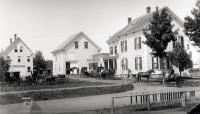 Murray home and livery stable, Sanford, ca. 1910