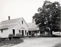 Brackett's Store at Emery's Mills, circa 1902