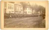 Thomas H. Marshall Post GAR parade, Belfast, ca. 1886