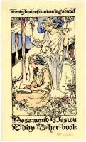 Rosamond Weston Eddy bookplate, ca. 1925