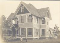 Frank L. and Annie Spear Rice's home in East Boothbay, ca. 1914