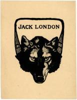 Jack London bookplate, ca. 1910