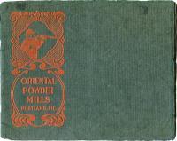 Oriental Powder Mills promotional booklet, ca. 1872