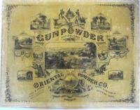 Oriental Powder Company lithograph, ca. 1863