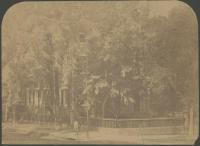 Preble mansion, Congress Street, Portland, ca. 1858