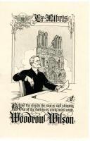 Woodrow Wilson bookplate, ca. 1917