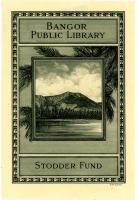 Bangor Public Library bookplate, 1929