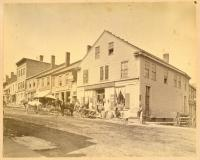 Businesses on Main Street, mid-19th Century