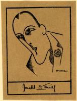 Donald S. Friede bookplate, ca. 1930