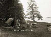 Campground in Jonesport, ca. 1915