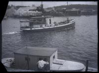 Ferry 'Governor Douglas,' Boothbay Harbor, ca. 1910