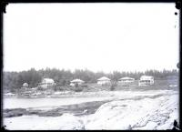 Summer cottages at Grimes Cove, Ocean Point, ca. 1910
