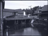 East Boothbay Tide Mill and bridge, ca. 1930