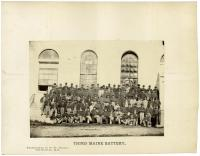 3rd Battery Light Artillery, Augusta, 1865