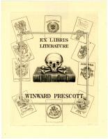 Winward Prescott bookplate, 1912