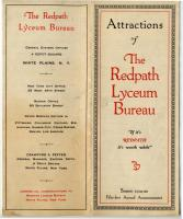 Attractions of the Redpath Lyceum Bureau brochure, 1919