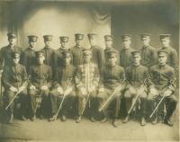 Garde d'Honneur, Association St. Dominique, Lewiston, ca. 1920