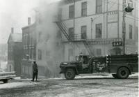 Gay Block fire of 1962, Waldoboro